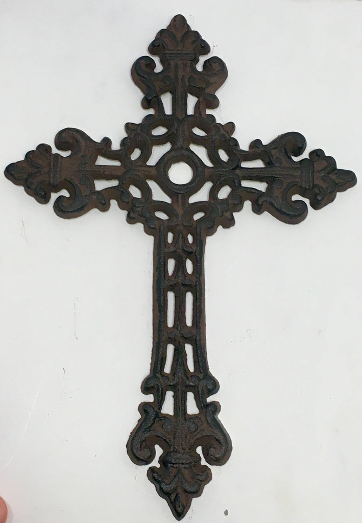 Copy of Cast Iron Cross Christian Rustic Home Wall Art Decor #146