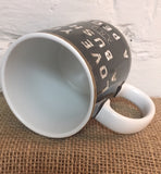 Coffee Mug Cup Love You a Bushel and a Peck Farmhouse Kitchen Decor Gift #745