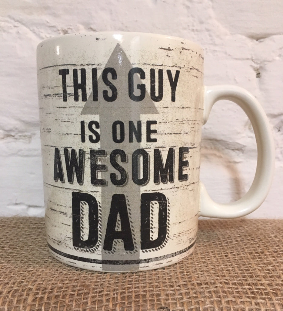 Coffee Mug Awesome Dad Father's Day Gift for father #744