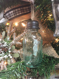 Mason Jar Christmas Ornaments Set of Three #800-54
