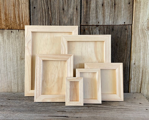 IOD Wood Gallery Blanks Various Sizes by Iron Orchid Designs