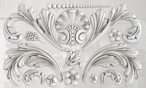 IOD Decor Mould Acanthus Scroll by Iron Orchid Designs