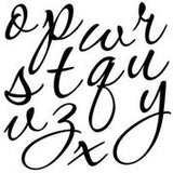 "IOD Decor Stamp Swoosh 12x12"" by Iron Orchid Designs"