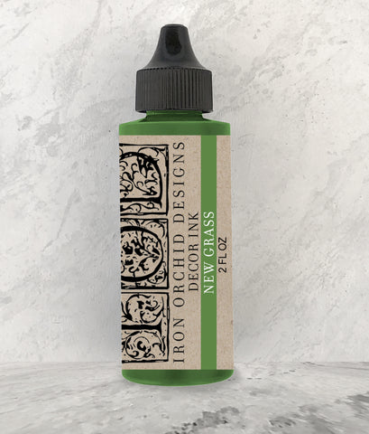 IOD Decor Ink New Grass (Green) 2 oz. by Iron Orchid Designs