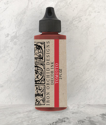 IOD Decor Ink Tomotto (Red) 2 oz. by Iron Orchid Designs