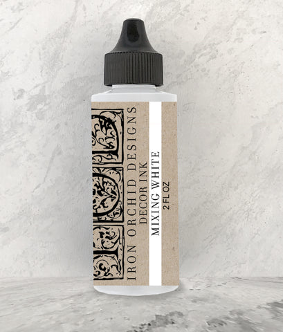 IOD Decor Ink Mixing White 2 oz by Iron Orchid Designs