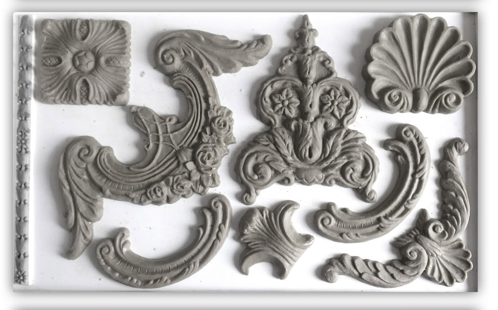 IOD Decor Mould Classic Elements by Iron Orchid Designs