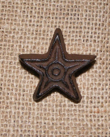Cast Iron Star Knob SET OF 4  #409