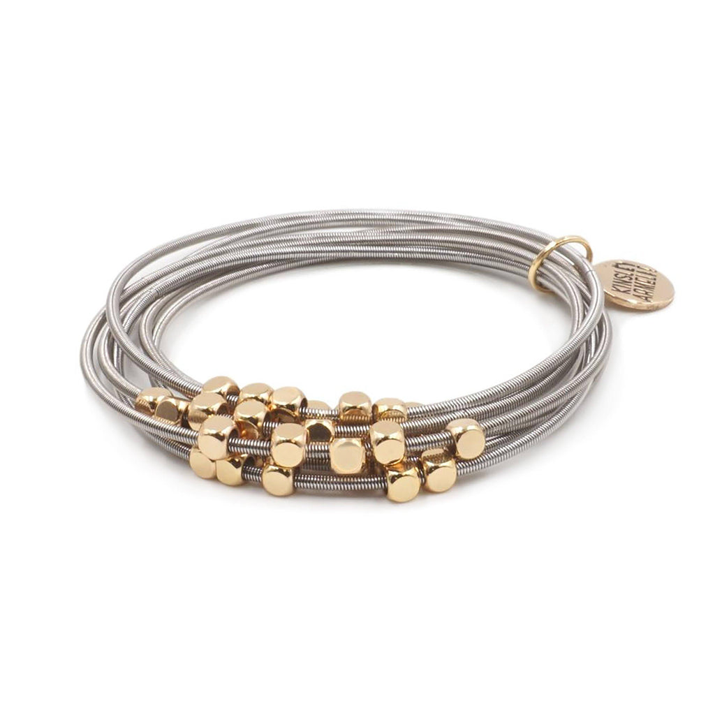 Kinsley Armelle Metallic Collection Ory Bracelet #117-514G