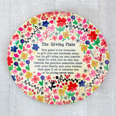 The Giving Plate #900-7