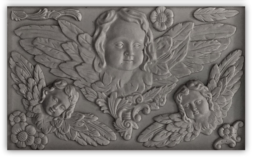 IOD Decor Mould Classical Cherubs by Iron Orchid Designs