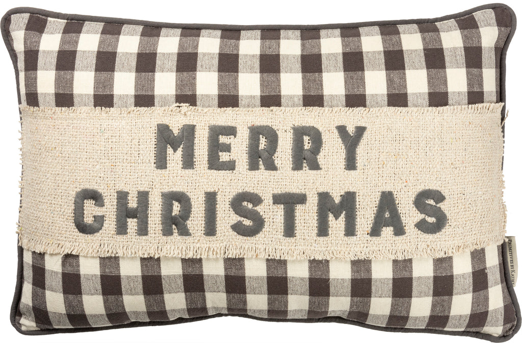 "Christmas Pillow ""Merry Christmas"" #100-1306"