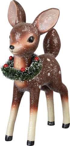 Christmas Decor Standing Deer #100-1334