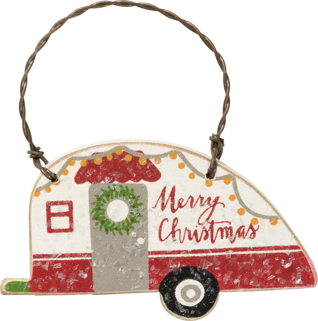 Christmas Vintage Camper Ornaments Set of 3 #100-1318