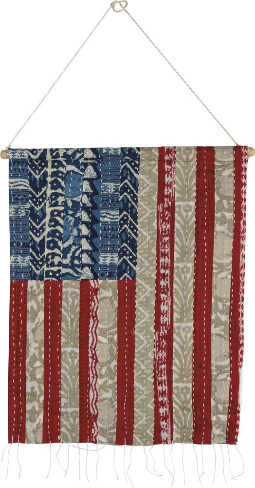 American Flag Wall Hanging #1058
