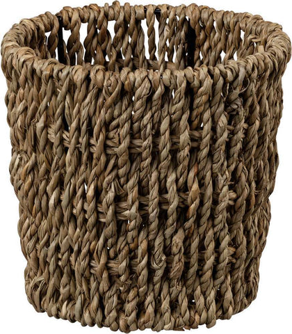 Basket Round  Seagrass Woven Container SET OF 2 #1000