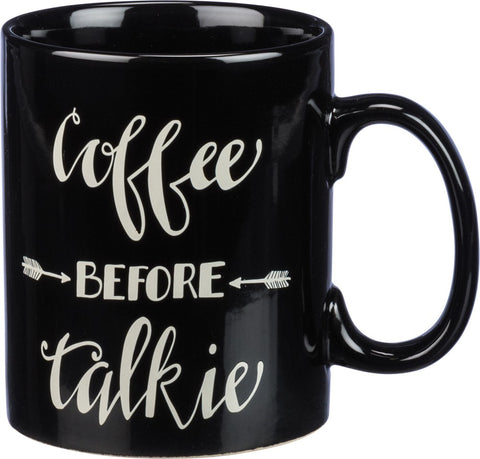 "Mug ""Coffee Before Talkie"" Kitchen Office Coffee Lover #1033"