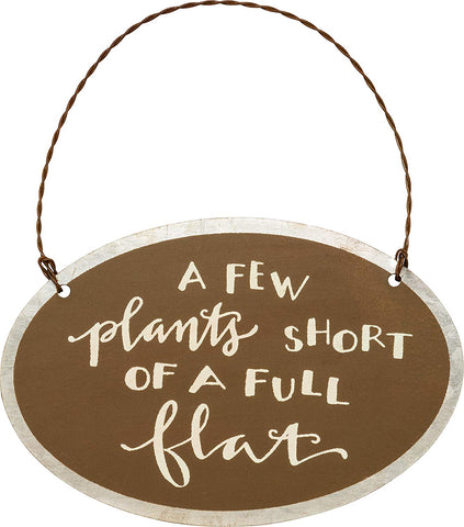 Garden Hanging Ornament for Gardener Funny Humorous Gift #753