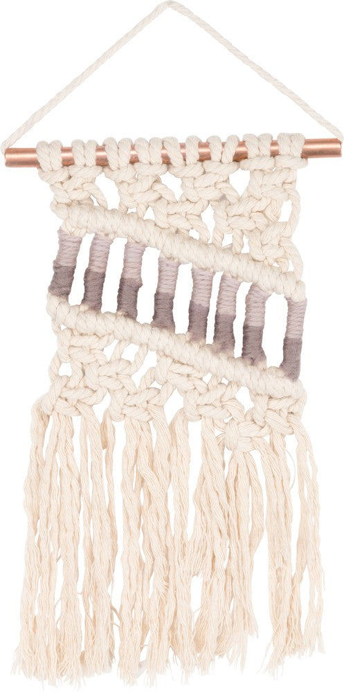 Macrame Bohemian Textile Tapestry Wall Hanging #993