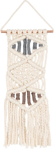 Macrame Bohemian Textile Tapestry Wall Hanging #994