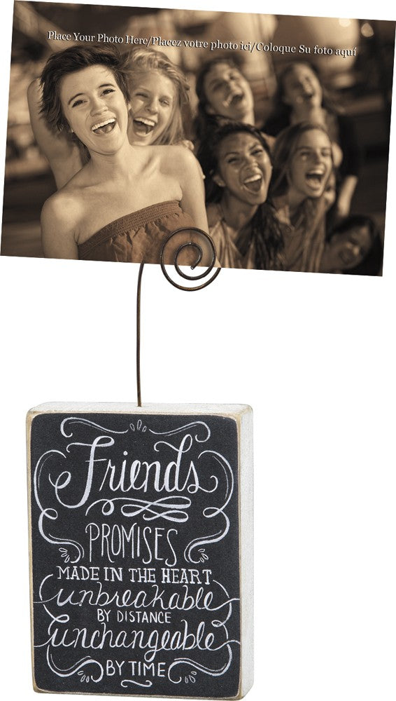 Photo Block Holder Best Friends #998