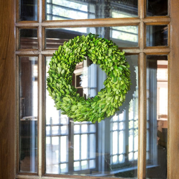 "Boxwood Wreath - 14"" #800-29"