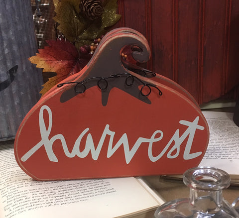Stand-up Harvest Pumpkin - Fall Decoration Thanksgiving Home Decor