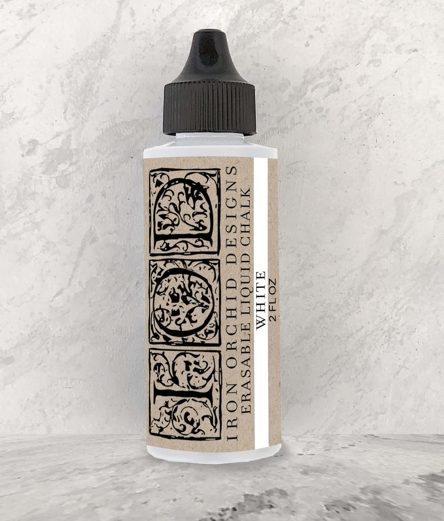 IOD Erasable Liquid Chalk White by Iron Orchid Designs