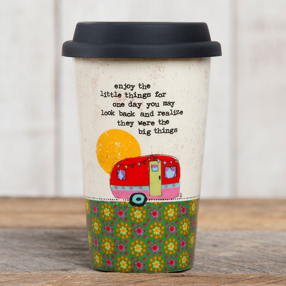 "Ceramic ""Little Things"" Mug #900-3"
