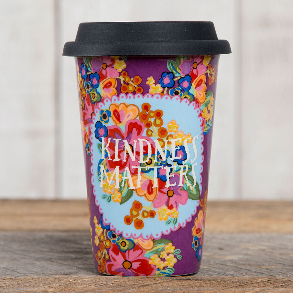"Natural Life Ceramic ""Kindness Matters"" Mug #900-2"