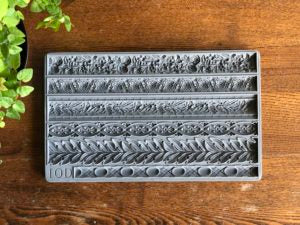 IOD Decor Mould Trimmings 1 by Iron Orchid Designs