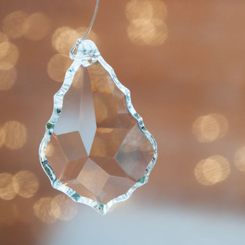 Crystal Arrowhead Prism 38mm