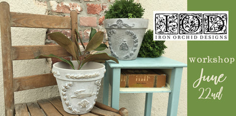 IOD- Garden Pot Craft Class