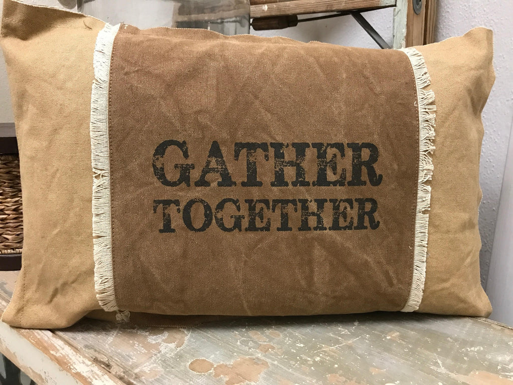 "Pillow ""Gather Together"""