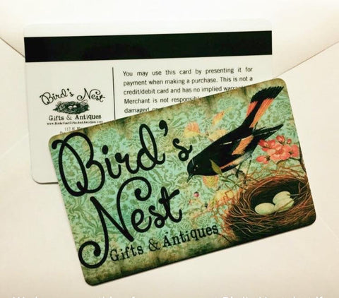 Bird's Nest Gift Card
