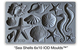 IOD Decor Mould Sea Shells by Iron Orchid Designs