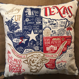 Texas Souvenir Pillow