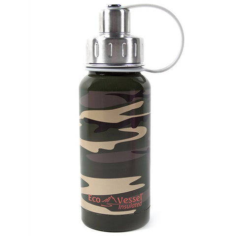 Twist Insulated Stainless Steel Bottle Camouflage