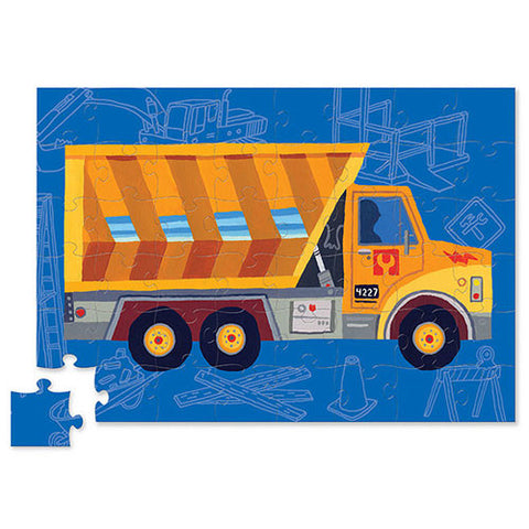 Dump Truck Vehicle Puzzle