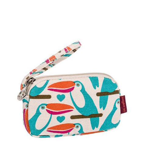 Toucan Clutch with Strap