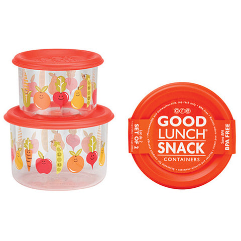 My Garden Good Lunch Snack Containers Small Set of 2