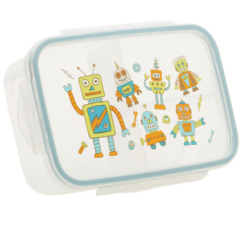Retro Robot Good Lunch Box