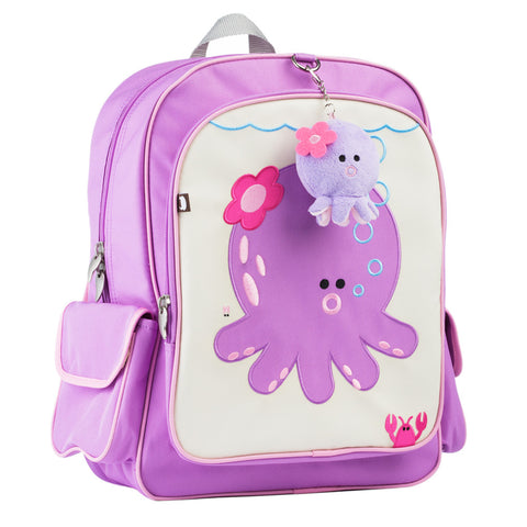 Big Kid Backpack: Penelope Octopus