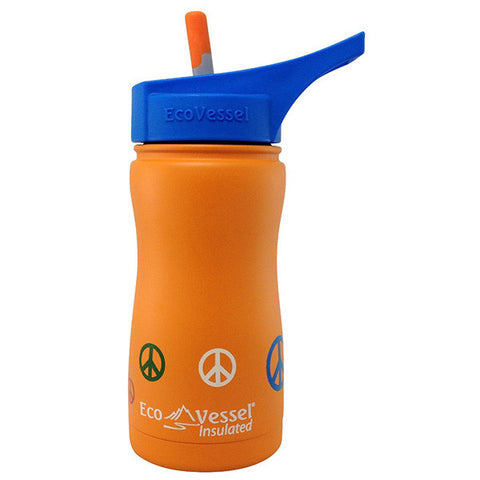 Frost Insulated Stainless Steel Bottle Orange Peace