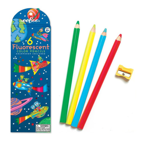 Rocket Fluorescent Pencils