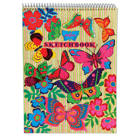 Fluorescent Butterflies Sketchbook