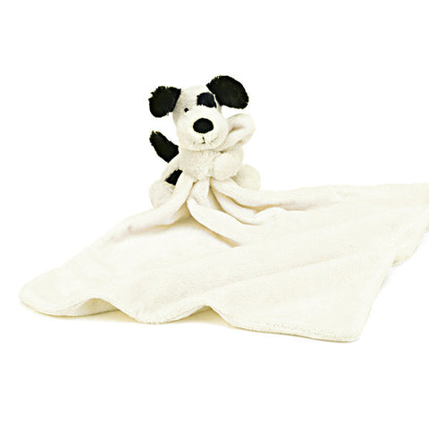 Bashful Black & Cream Puppy Soother