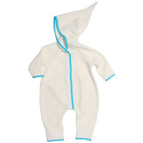 Cozie Fleece Elf Romper - Cream
