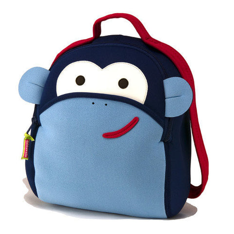 Blue Monkey Backpack