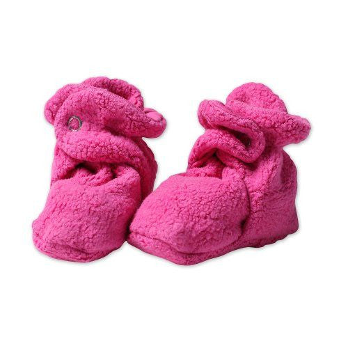 Cozie Fleece Booties - Fuchsia